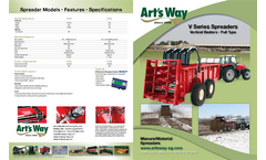 Model V180 - Manure Spreader Brochure