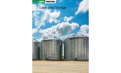 AGI Westeel - Model SeedStor-K - Hopper Bottom Bins - Brochure