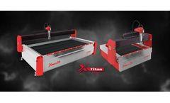 Semyx - Model TITAN Series - Waterjet Cutting System