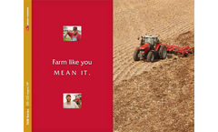 Model 7600 Series - Mid and Frame Row Crop Tractors Brochure