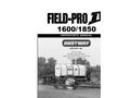 FPIV 1600 1850 Operators Manual