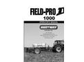 Field-Pro IV 1000 Operators Manual