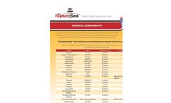 Chemical Compatibility Information - Technical Specifications