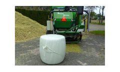 Agronic - Model MR 810 - Small Maize Baler Wrapper
