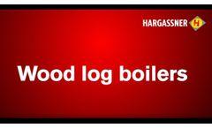 Hargassner Heating Technology - Wood log Boiler Neo-HV - Video