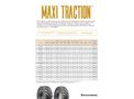 Firestone - Model R-1W - Maxi Traction Tire - Brochure