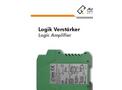 AlphaFluid - Logic Amplifier Serves Technical Datasheet