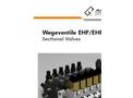 Wegeventile - EHF/EHP - Sectional Valves Technical Datasheet