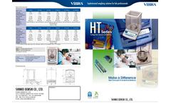 HT Series - Standard Analytical Barance Catalogue
