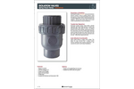 Minuteman - Isolation Spring Check Valves Brochure