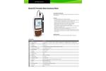 Bante - Model 322 - Portable Water Hardness Meter Brochure