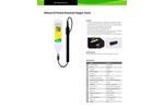 DOscan - Model 10 - Pocket Dissolved Oxygen Meter Brochure