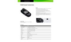 Bante - Model TB100 - Portable Turbidity Meter Brochure