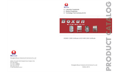 Shanghai Boxun Industry & Commerce Co Ltd Company Brochure