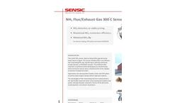 NH3 Flue/Exhaust Gas 300C Sensor Brochure