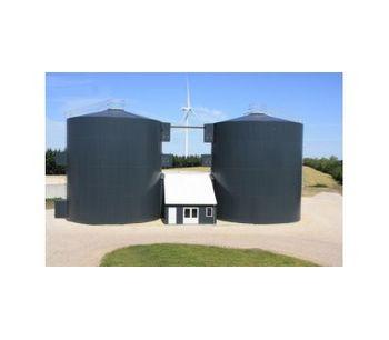 Assentoft - Biogas Reactor Tanks
