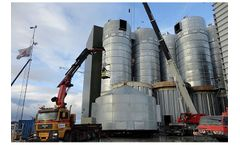 Assentoft - Fish Feed Silo and Tanks