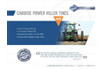 Atom-Jet - Power Hiller Tines - Brochure