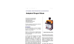 Narcotic Analysis (Golden Gate ATR) - Application Note