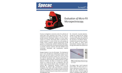 Evaluation of Micro Fibers using Micro-spectroscopy (SurveyIR) - Application Note