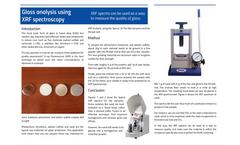 Glass analysis using XRF spectroscopy - Application Note