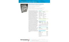 Spectral-Systems - Model CaF2 - Super-Sealed Liquid Flow Cells Brochure