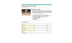 EL-101 - Electroporation Cuvettes Datasheet