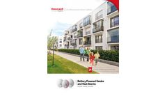 Honeywell - Model X-Series - Battery Powered Carbon Monoxide Alarms - Brochure