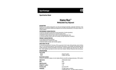 Home Run - Methylated Soy Adjuvant - Datasheet