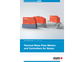 High-precision Thermal Mass Flow Meters & Mass Flow Controllers for Gases - Brochure