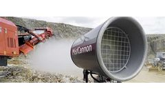 MistCannon - Large Scale Dust Suppression System