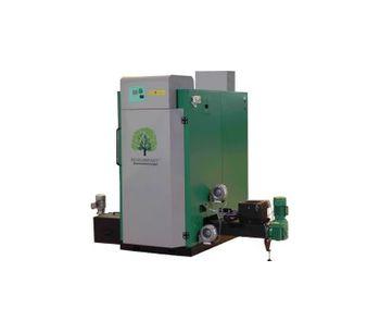 Biokompakt - Model ECO 50 E - Wood Chip Boiler with Electrostatic Precipitator