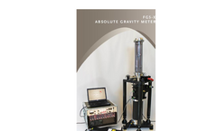 Absolute Gravimeter FG5-X - Brochure