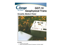Geophysical Transmitter GGT-10 Brochure