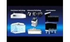 Spetec Company for laboratory equipment and clean room technology - Video