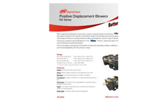 Process Positive Displacement Blower NX S Series- Brochure