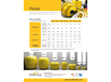 Badinotti - PVC Floats - Datasheet