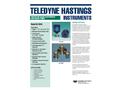 THI IGE-3000 Ionization Gauge Tubes and Electronics - Brochure