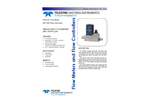 THI HFM-201 / HFC-203 Mass Flow Meters and Controllers - Brochure