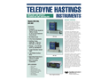 HFM-300 / HFC-302 Low Capacity Flowmeters and Controllers - Brochure