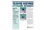 THI HFM-305 / HFC-307 Mass Flow Meters and Controllers - Brochure