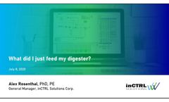 Webinar - What Did I Just Feed My Digester? - Video