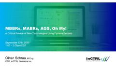 Webinar - MBBRs, MABRs, AGS, Oh My! - Video