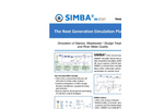 SIMBA#water - Process Simulator for Modeling, Simulation, Optimization and Management of Wastewater Treatment Plants - Brochure