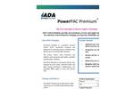 PowerPAC Premium - Halogenated Powdered Activated Carbon (PAC) - Datasheet