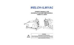 DuoSeal - Model 1400 - Vacuum Pumps Brochure