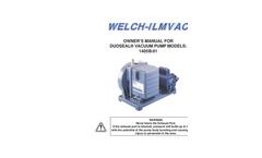 DuoSeal - Model 1405 - Vacuum Pumps Brochure