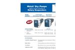 DryFast - Model 2037 - Diaphragm Vacuum Pumps Brochure
