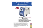 DryFast - Model 2014 - Collegiate Diaphragm Vacuum Pumps Brochure