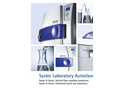 Systec - Model V-Series - Vertical Floor-Standing Autoclaves Brochure